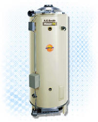 AO SMITH BT-100-LP: 100-GALLON, 75,100 BTU, LP (PROPANE), 4inch VENT WATER HEATER (NOT RECOMMENDED FOR 180 DEGREE SANITIZING)