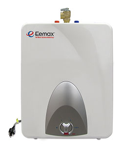 EEMAX EMT6: 1.44 kW, 120V  Mini Tank Water Heater - 6 Gallon Capacity